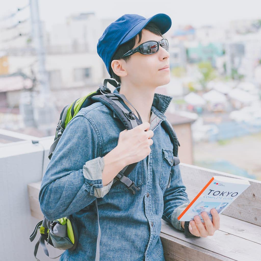 Backpacker observes Japan