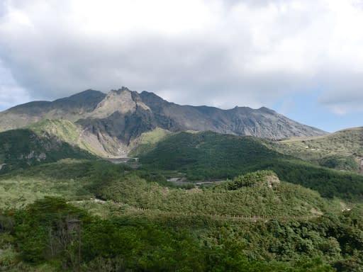 Kirishima-Kinkowan National Park in Japan