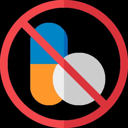 no drugs allowed illustration