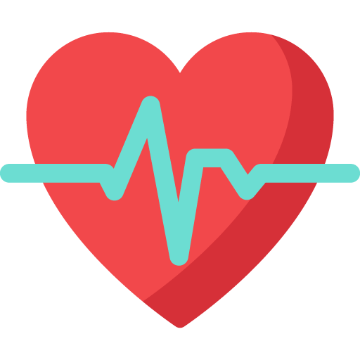 Heart and monitor illustration
